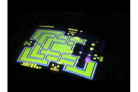 Pepper II Arcade Game Play Sample - YouTube