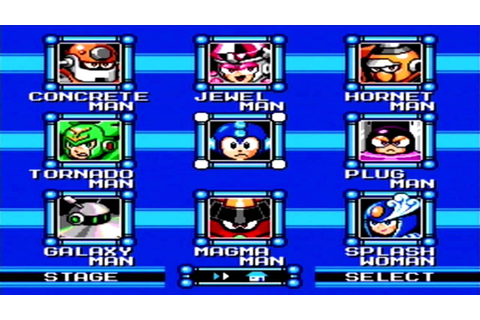Mega Man 9 - Stage Select (Sega Genesis Remix) - YouTube