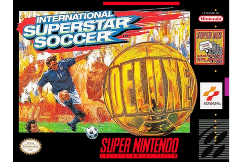 RETROSLAVEX - International Superstar Soccer Deluxe (SNES ...