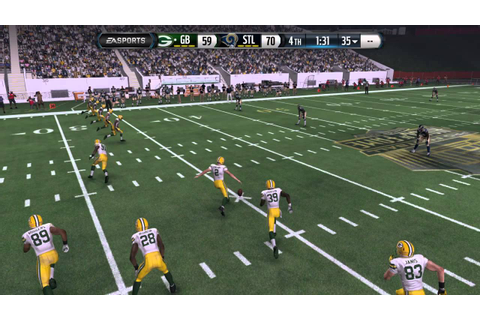 Madden NFL 16 (PS4) Crazy High Scoring Game - YouTube