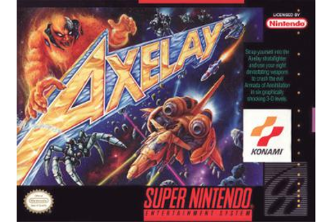 Axelay - Wikipedia