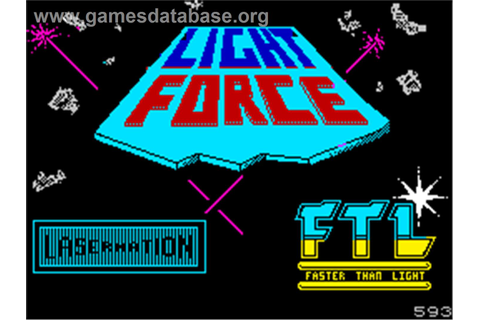 Lightforce - Sinclair ZX Spectrum - Games Database