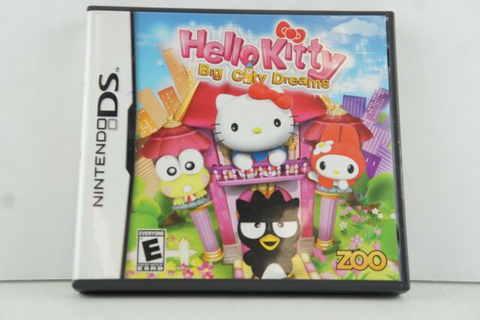Hello Kitty: Big City Dreams Zoo Games (Nintendo DS, 2008 ...