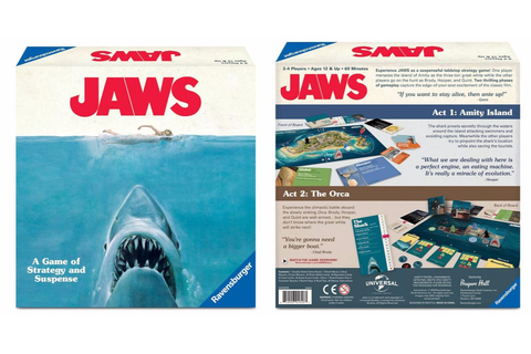 Jaws Board Game Swims Into Target, Play as the Shark or ...