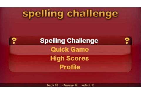 Spelling Challenges and More! Game | PSP - PlayStation
