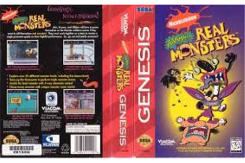 Aaahh!!! Real Monsters (Video Game) | The Aaahh!!! Real ...