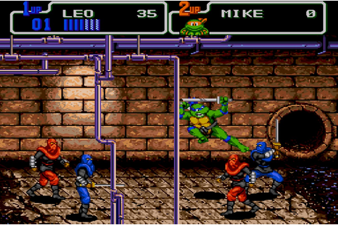 Teenage Mutant Ninja Turtles IV: Turtles In Time - SNES ...