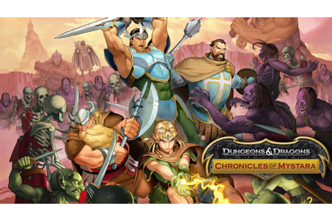 Dungeons & Dragons: Chronicles of Mystara - Reveal Trailer ...