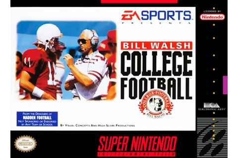 Play Bill Walsh College Football Nintendo Super NES online ...