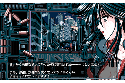 I love the look of PC98 games aka the Anime PC game ...