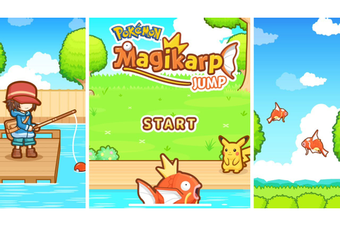 Pokémon: Magikarp Jump | English Gameplay - YouTube