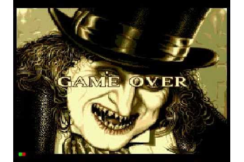 Game Over: Batman Returns (Sega CD) - YouTube