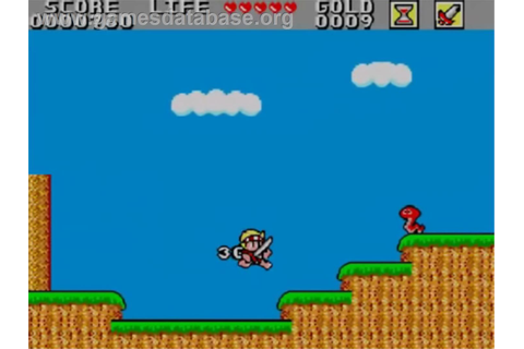 Wonder Boy in Monster Land - Sega Master System - Games ...