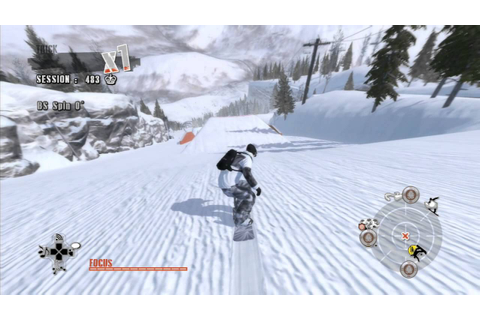 Shaun White Snowboarding park city (PS3) - YouTube