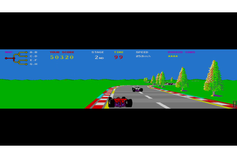TX-1 (1983) - First nonlinear racing game - YouTube