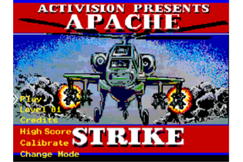 Apache Strike (DOS) - Video Game Music Preservation ...