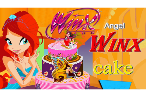Winx Club - Making Angel Cake (Game for Kids) - YouTube