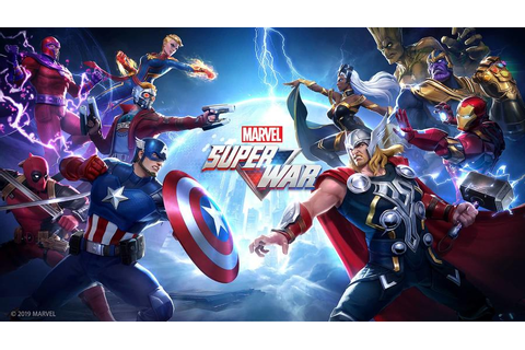 MARVEL Super War from NetEase and Marvel Games Opens its ...