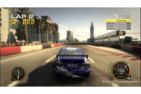 Race Driver: GRID Gameplay PC HD - YouTube