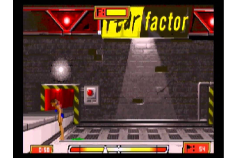 Fear Factor: Unleashed (GBA) gameplay - YouTube