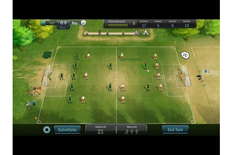 Football, Tactics & Glory Gameplay Review - YouTube