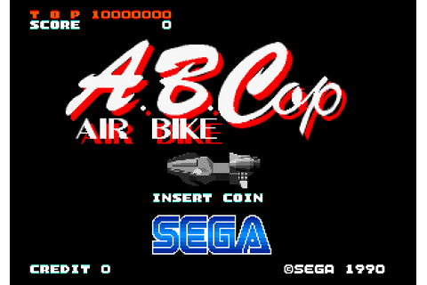 A.B. Cop (1990) by Sega Arcade game