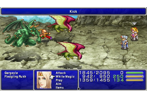 Final Fantasy IV: The Complete Collection PSP review ...