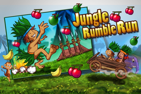 Jungle Rumble Run - Survival In Jungle To Eat juicy Fruits ...