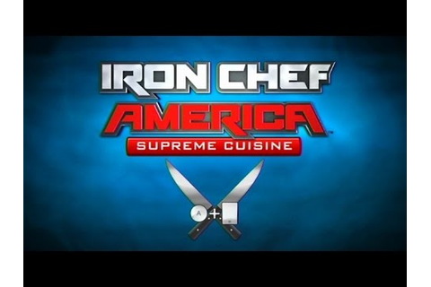 Iron Chef America Supreme Cuisine Wii Gameplay - YouTube