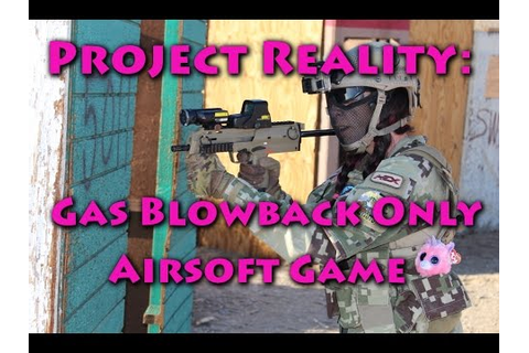 Project Reality: Gas Blowback Only Airsoft Game (DesertFox ...