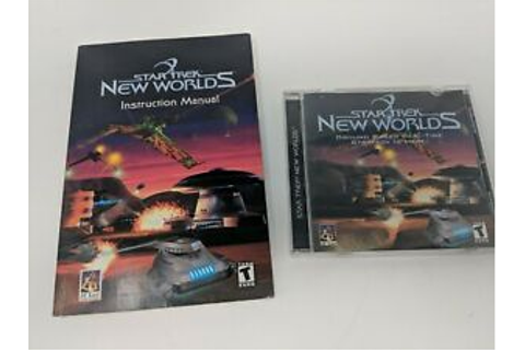 Star Trek: New Worlds - Real-time Strategy RTS PC Game - w ...