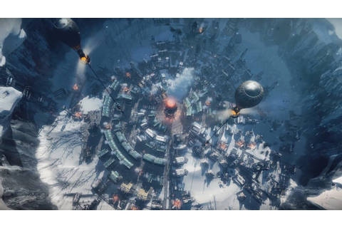 FROSTPUNK First Gameplay Trailer (Steampunk Ice Age ...