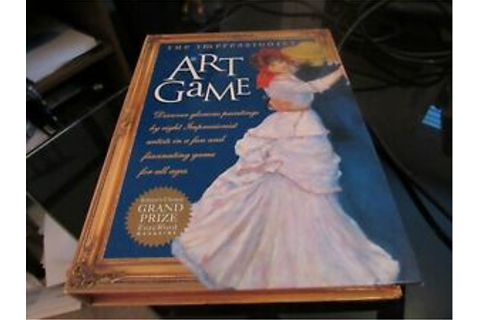 The Impressionist Art Game Discover Glorious Paintings by ...