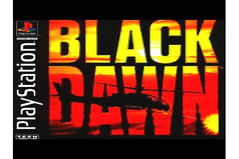 Black Dawn Game Review (PSX) (1996) - YouTube