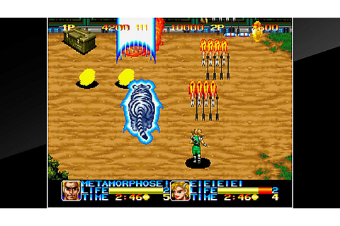 ACA NEOGEO NINJA COMMANDO Game | PS4 - PlayStation