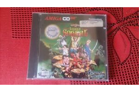 HERO QUEST 2 LEGACY OF SORASIL Amiga CD32 Commodore Sealed ...