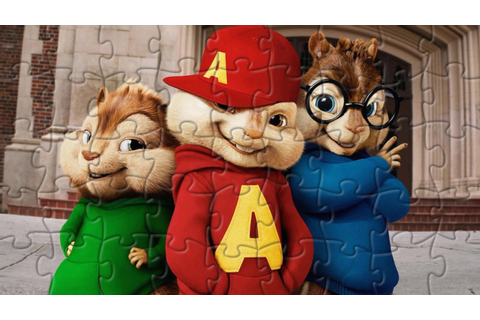 Alvin and the Chipmunks Puzzle Games For Kids - YouTube