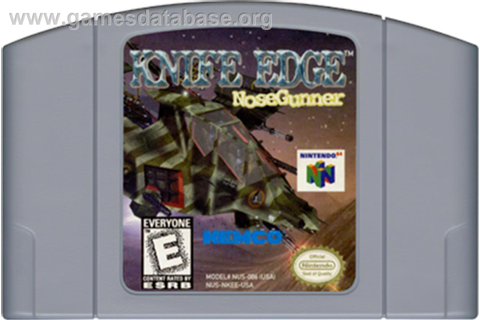 Knife Edge: Nose Gunner - Nintendo N64 - Games Database