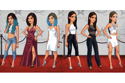 Kendall and Kylie Jenner?s New Avatars in Kim Kardashian?s ...