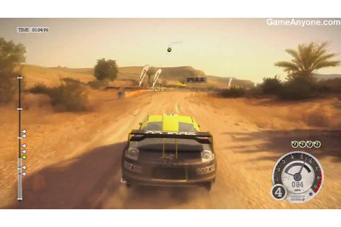 Colin McRae: Dirt 2 - Demo Gameplay - YouTube