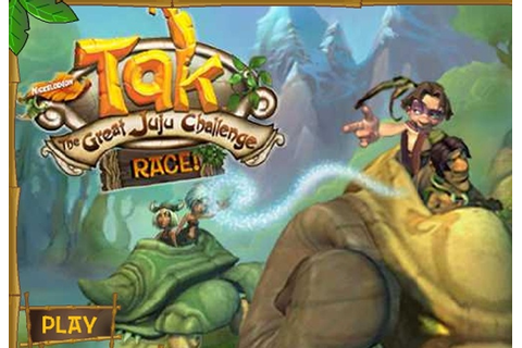 Tak The Great JuJu Challenge Race Game - Cartoon games ...