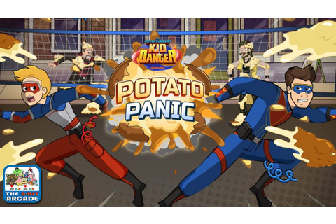 The Adventures of Kid Danger: Potato Panic - A Messy Game ...