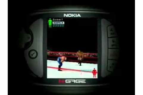 WWE Aftershock trailer (Nokia N-Gage) - YouTube