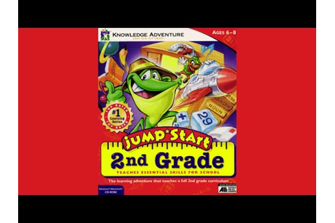 JumpStart 2nd Grade (1996) - Game Intro - YouTube