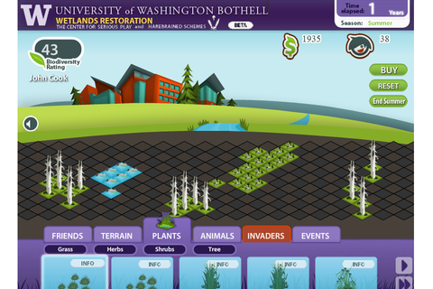 A FarmVille for wetlands? Students create Facebook game ...