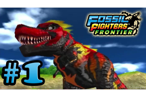 Fossil Fighters Frontier - First 30 Minutes - Gameplay ...