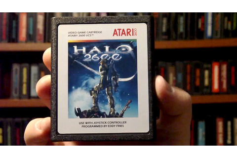 LGR - Halo 2600 - Atari 2600 Game Released in 2010! - YouTube