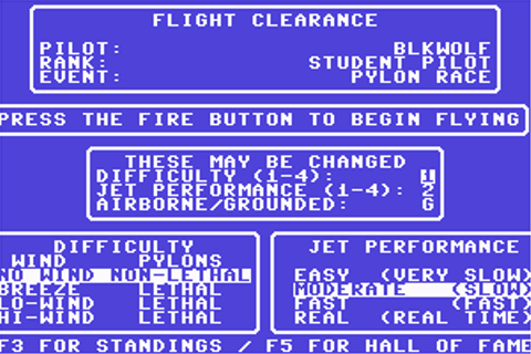Download Acrojet (Amstrad CPC) - My Abandonware