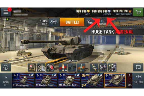 World of Tanks Blitz Hack Unlimited Gold - Games Hack Club