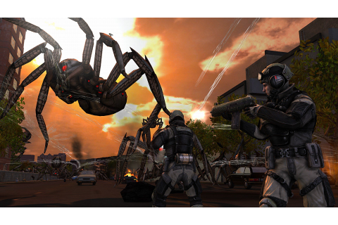 Earth Defense Force: Insect Armageddon New Gameplay ...